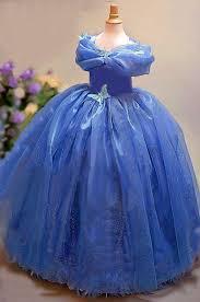 Blue Butterfly Halloween Costume Baby Girls Dress Summer 2016 Princess Cinderella Dress Halloween
