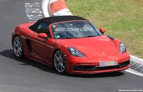 Porsche Boxster Gts Specs - 2018 porsche 718 boxster gts spy shots
