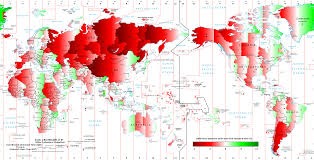 Map Of Time How Wrong Is Your Time Zone Map Shows How Far World Clocks Are