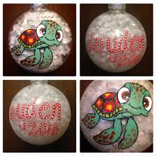 finding nemo ornament painted