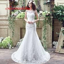 wedding dress sheer straps lace mermaid wedding dresses 2017 sheer straps white