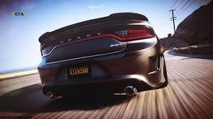 gta 5 dodge charger 2016 dodge charger srt hellcat add on replace