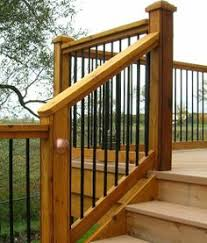 wide deck stair designs canopy system there is still a nook in