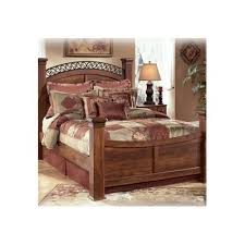 timberline king size poster bedroom set w underbed storage by ashley furniture home elegance usa august grove elle panel bed cookware free shipping and products