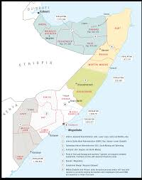 Map Of Al Somalia U0027s Al Shabaab Down But Far From Out Crisis Group