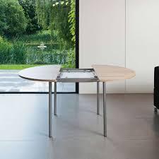 table de cuisine en stratifié table de cuisine ronde en stratifié avec rallonge basic 4