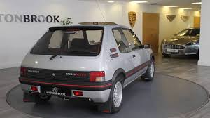 100 this peugeot 205 gti just used 1993 peugeot 205 gti for