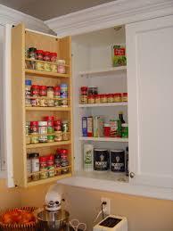 Spice Rack Countertop Birch Wood Ginger Amesbury Door Kitchen Cabinet Spice Rack