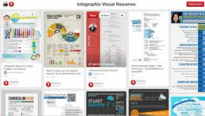 infographic resumes about infographics and data visualization cool infographics
