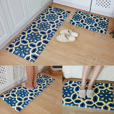 tapis cuisine bohème bleu tapis cuisine carpet haute qualité paillasson dans tapis
