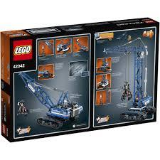 lego technic crawler crane 42042 walmart com