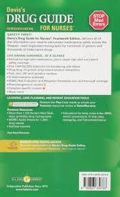 davis u0027s drug guide for nurses april hazard vallerand phd rn faan