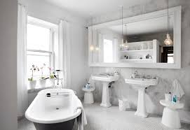 Pictures Of Black And White Bathrooms Ideas 38 Bathroom Mirror Ideas To Reflect Your Style Freshome