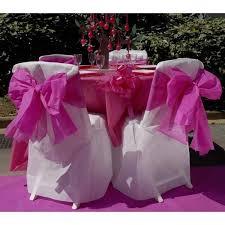housses de chaises mariage housse chaise de chaise jetable ivoire x5 deco mariage pas cher