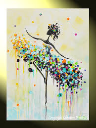 paint splatter canvas art i need to try this i would pick the