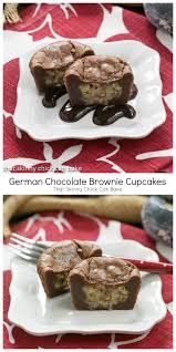 german chocolate brownie cupcakes german chocolate brownie recipe