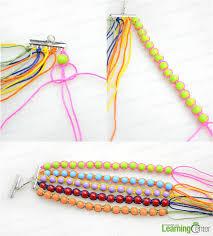 bangle bracelet beads images Bangle making tutorial how to make beaded bangle bracelets with jpg