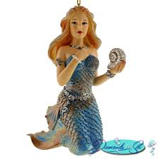 capricorn mermaid ornament from december diamonds is