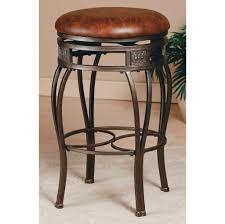 kitchen design stunning montello brown round leather bar stool