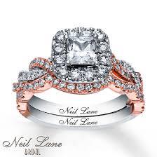 neil bridal set neil bridal set 1 7 8 ct tw diamonds 14k two tone gold