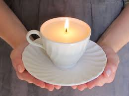 tea cup candles brightnest fix scratched dishes diy teacup candles