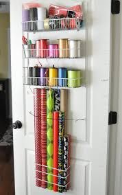 gift wrap storage ideas she s crafty gift wrap organizer
