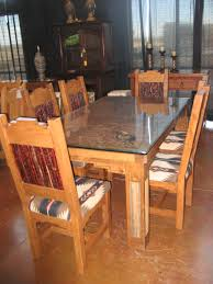 southwestern dining room furniture saguaro table with glass kokopelli copper top southwest