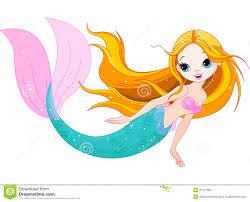 mermaid swimming clipart clipartxtras