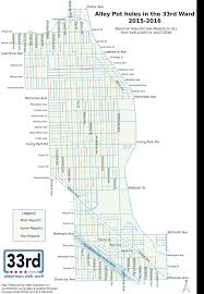 Chicago Ward Map Menu Fund Capital Improvement Program Ward 33