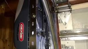 liftmaster jackshaft garage door opener side mount custom garage door opener youtube