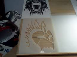 design your own logo and make a painting stencil 6 steps with