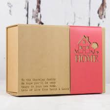 gift box home sweet home gift box by fora creative notonthehighstreet