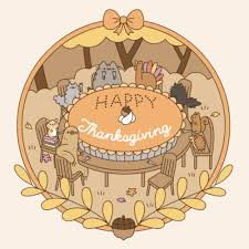 pusheen the cat images happy thanksgiving pusheen wallpaper and
