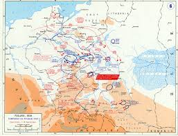 Maps Of Germany by Map Of German Campaign In Poland September 1939