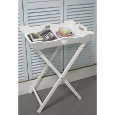 shabby chic side table white butler s tray side table shabby chic furniture bedroom