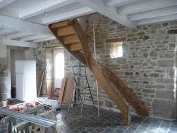 limon d escalier en bois pose d u0027un escalier à courbe massive l u0027atelier du tregor