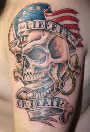 American Flag Skull American Flag Skull Tattoo Tattoo Collections