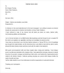 fashion cover letter examples fashion industry cover letter