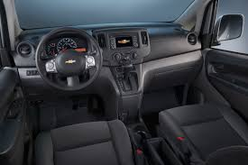 nissan van interior new chevrolet city express van is a rebadged nissan nv200
