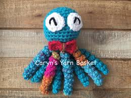 ships today crochet preemie octopus boy baby toy infant