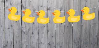 Rubber Duck Banner Rubber Duck Garland Rubber Duck