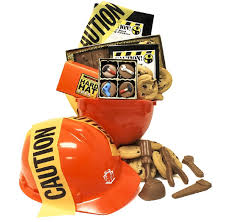 themed gift construction contractors themed gift basket on sale now