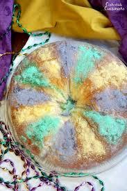 mardi gra cake traditional mardi gras king cake curious cuisiniere