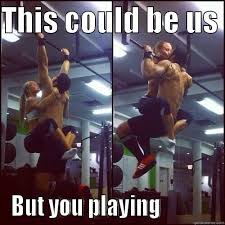 This Could Be Us But You Playing Meme - pull ups quickmeme