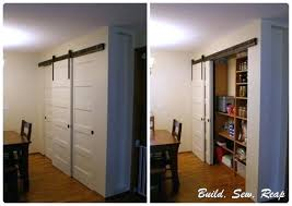 How To Build A Sliding Closet Door Barn Door Closet Doors Closet Models
