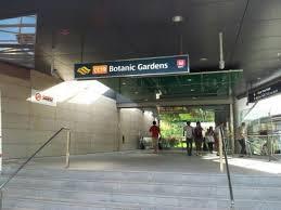 Botanic Garden Mrt Botanic Gardens Mrt Station Singapore Botanic Gardens Flickr