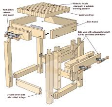 Woodworking Bench Height by Build A Carving Bench Wood Carving Magazine