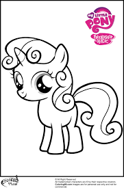 scootaloo coloring pages getcoloringpages