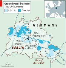 Groundwater Table The Moisture Down Below Water In Berlin