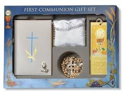 communion gift blessed pearl edition white cross 6 pc deluxe communion